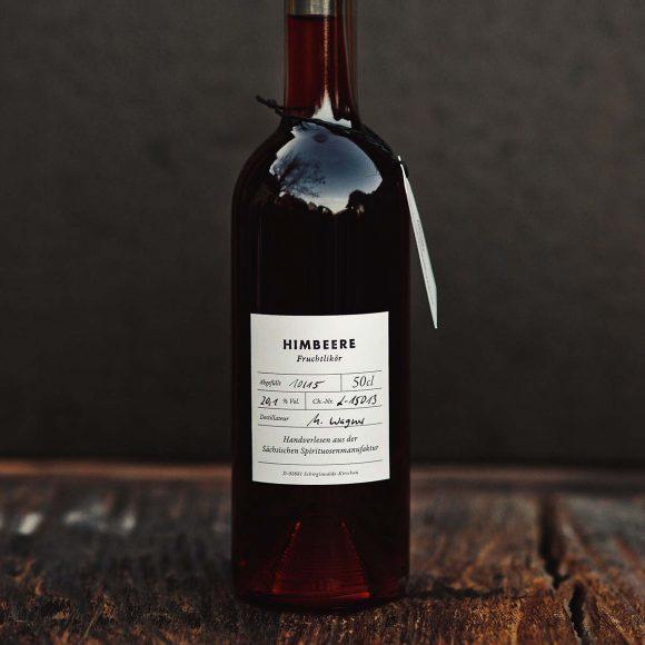 Himbeere – Fruchtlikör der Sächsischen Spirituosenmanufaktur