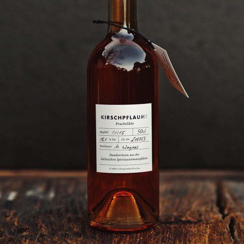 Kirschpflaume - Fruchtlikör der Sächsischen Spirituosenmanufaktur