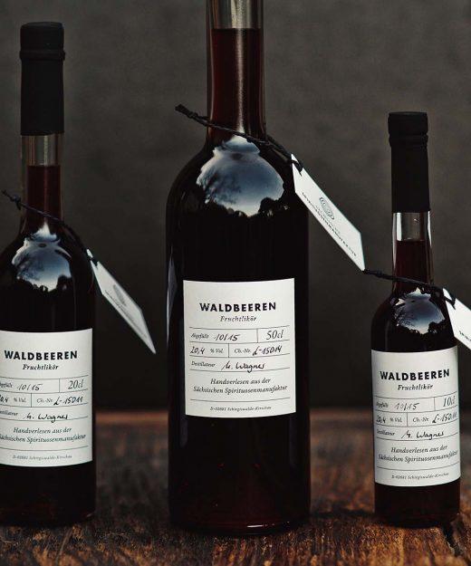 Waldbeeren – Fruchtlikör der Sächsischen Spirituosenmanufaktur
