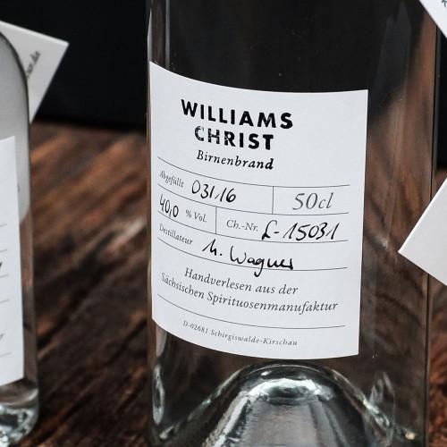 Williams Christ Birnenbrand Detail