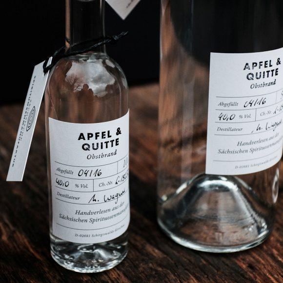 Apfel & Quitte – Obstbrand