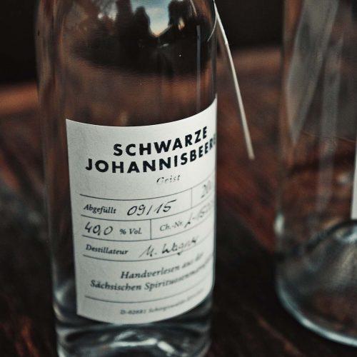 Schwarze Johannisbeere – Geist Detail