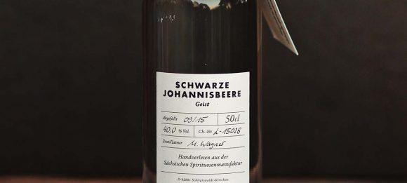 Schwarze Johannisbeere – Geist 50cl