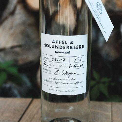 Apfel & Holunderbeere – Obstbrand Sonderedition