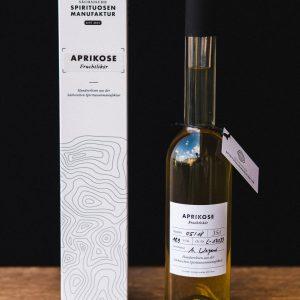 Aprikose – Fruchtlikör der Sächsischen Spirituosenmanufaktur
