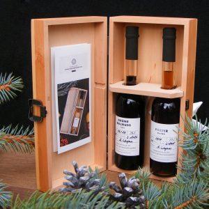 Weihnachtsgeschenk mit besonderen Likören