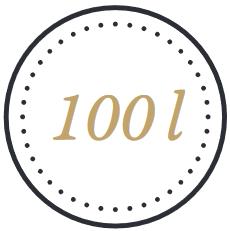 100 Liter Holzfass