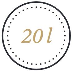 Icon 20l Holzfass