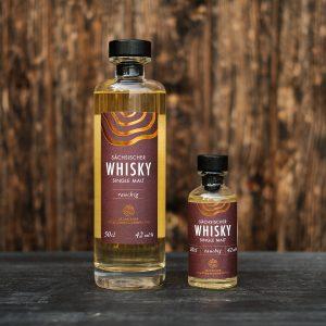 Sächsischer Whisky rauchig kaufen